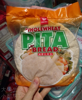 Garden嘉頓 Wholewheat Pita Bread